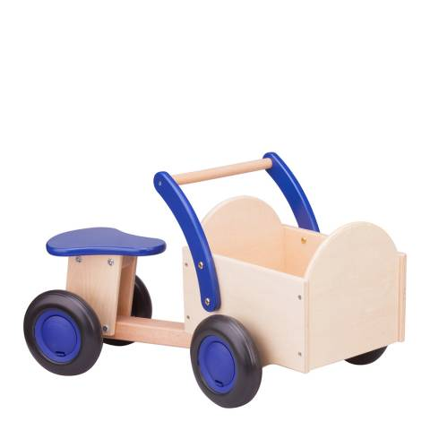 New Classic Toys Blue Carrier Bike