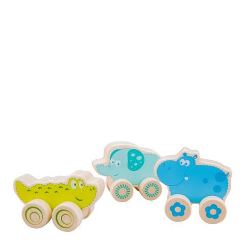 New Classic Toys Wheelie Safari Animals Playset