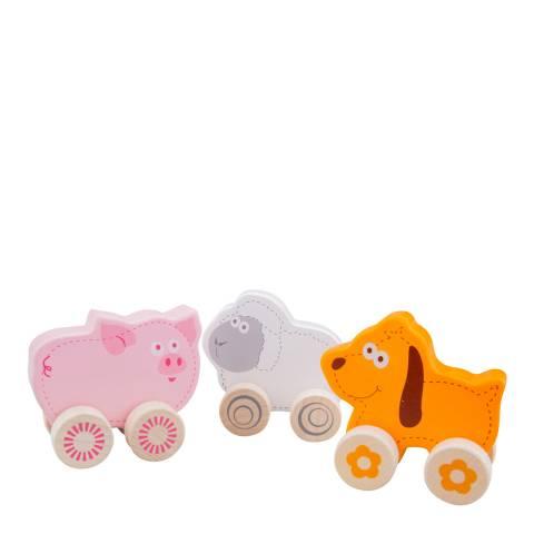 New Classic Toys Wheelie Farm Animals Playset