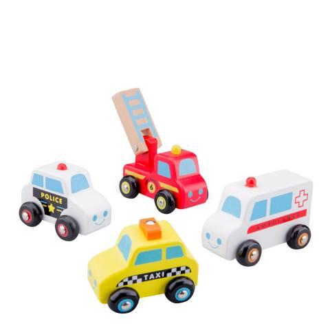 New Classic Toys 4 Piece Vehicle Set