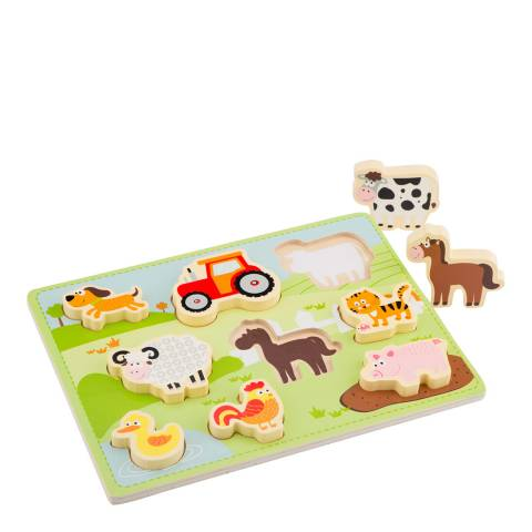 New Classic Toys Chunky Farm Puzzle