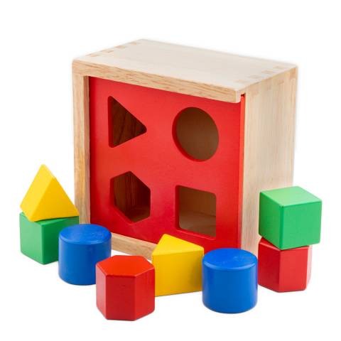 New Classic Toys Shape Sorting Cube Toy