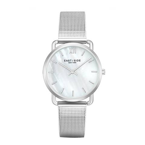 East Village Pearl Lady Watch Silver