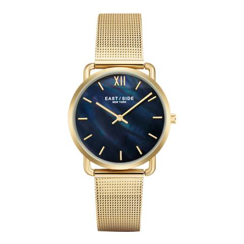 East Village Pearl Lady Watch Yellow gold