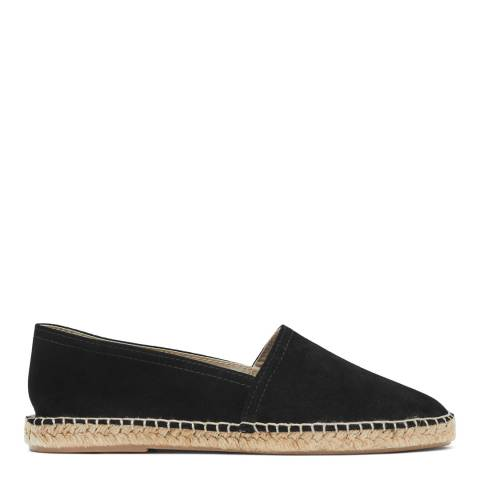 Reiss Black Sydney Closed Toe Espadrilles
