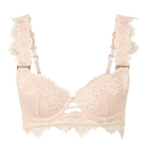 Pleasure State White Label Pink Tint/Cameo Rose Rosita Fortuna Contour Balconny Bra