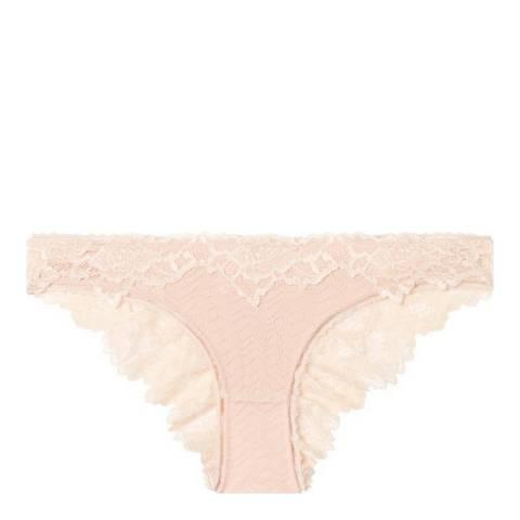 Pleasure State White Label Pink Tint/Cameo Rose Rosita Fortuna Mini Brief