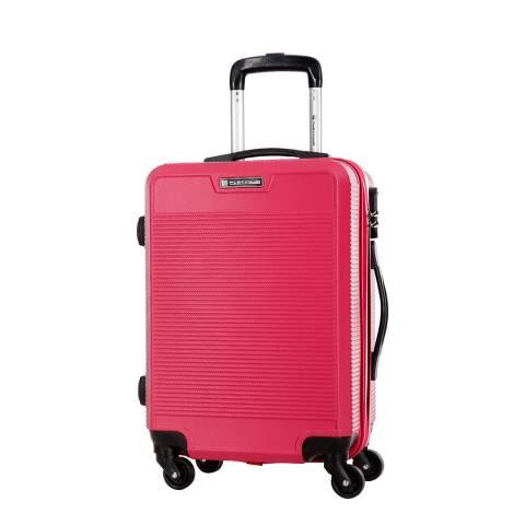 Platinium Pink Fuschia Riverdale 4Wheeled Suitcases