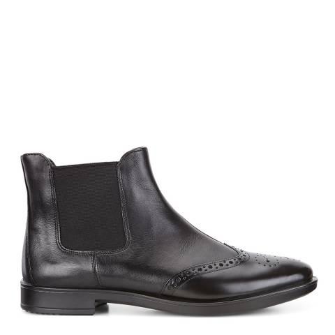 ECCO Black Nova Cow Shape 15 Chelsea Boots