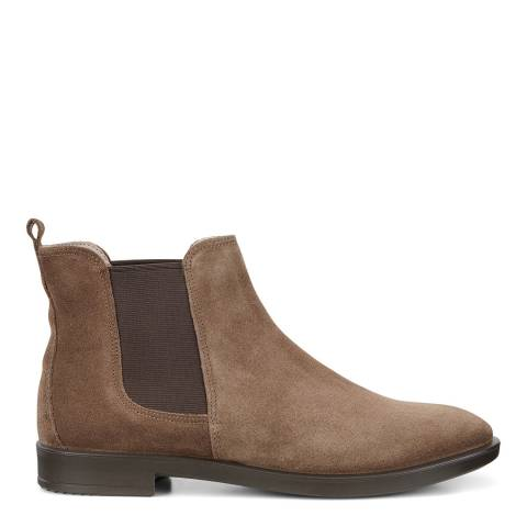 ECCO Brown Leather Chelsea Boot