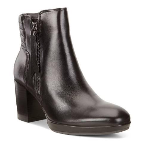 ECCO Black Chalet Roxy Shape 55 Boots