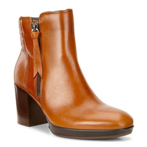 ECCO Brown Chalet Roxy Shape 55 Boots