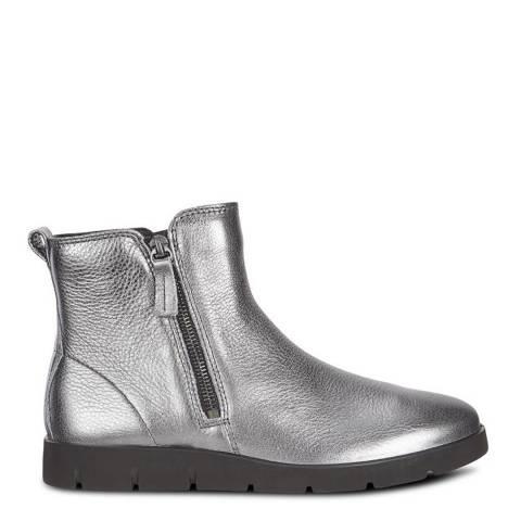ECCO Dark Metallic Lycra Bella Boots