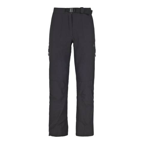 Trespass Women's Black Escaped  Stretch Trousers