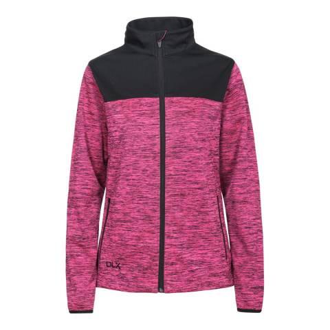 DLX Fuchsia Laverne  Softshell Jacket