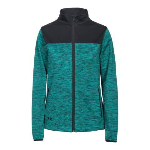 DLX Green Laverne  Softshell Jacket
