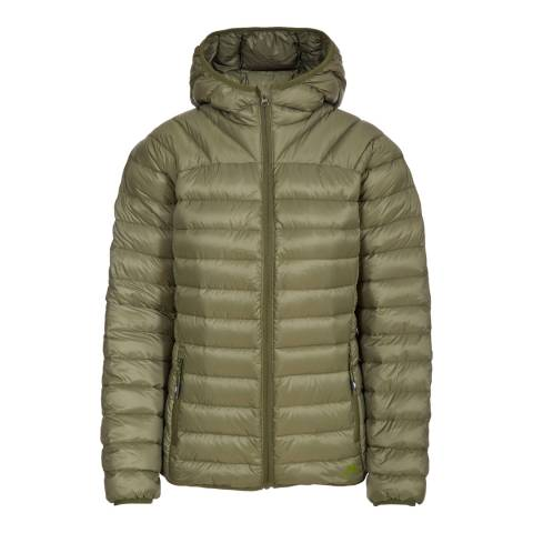 Trespass Moss Green Trisha Packaway Down Jacket