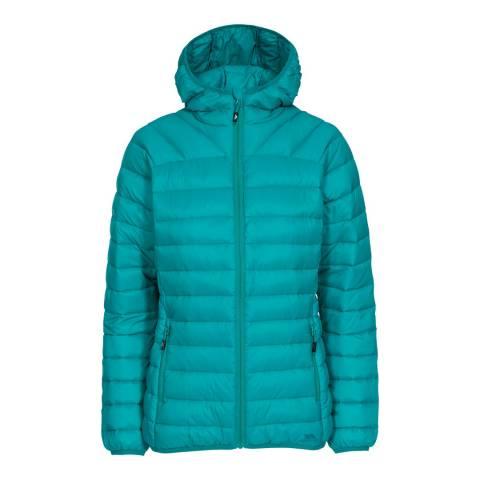 Trespass Ocean Green Trisha Packaway Down Jacket