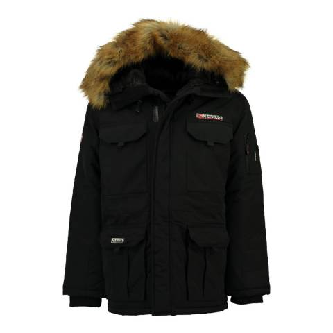 Geographical Norway Black Bottle Parka