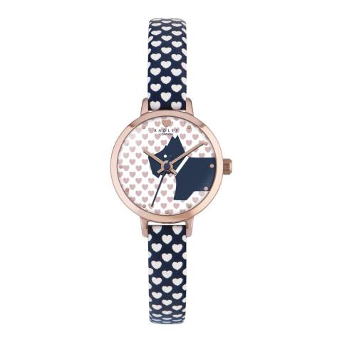 Radley Multi Love Summer Fig Heart Strap Watch