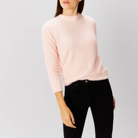 Coast Pink Tiara Tie Back Knit Top