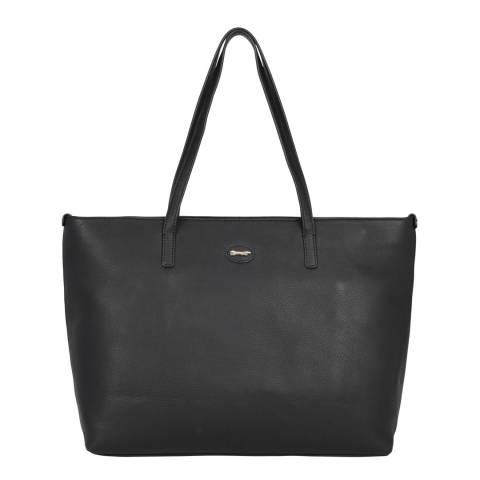 Paul Costelloe Black Tropez Leather Bag