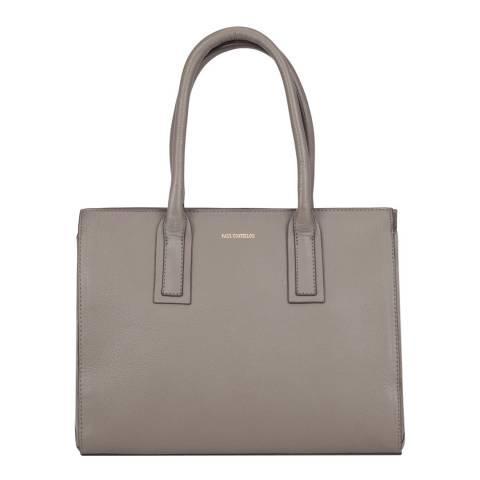 Paul Costelloe Brown Savoie Leather Bag