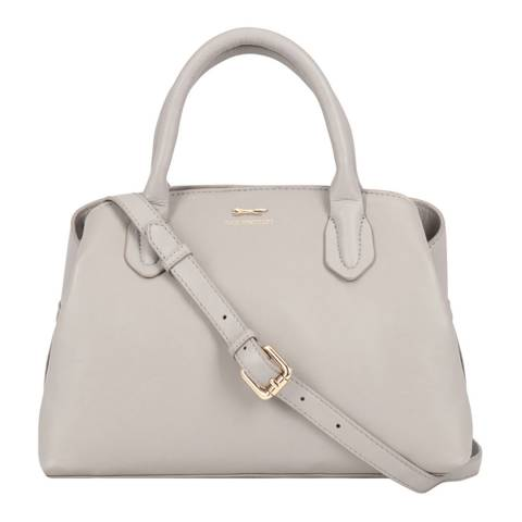 Paul Costelloe Off White Lievin Leather Bag