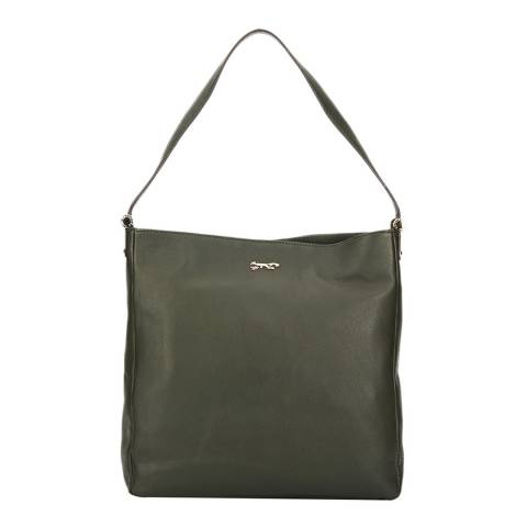 Paul Costelloe Green Toshima Leather Bag