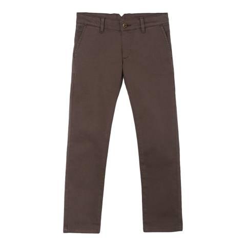Hackett London Charcoal Cotton Chino