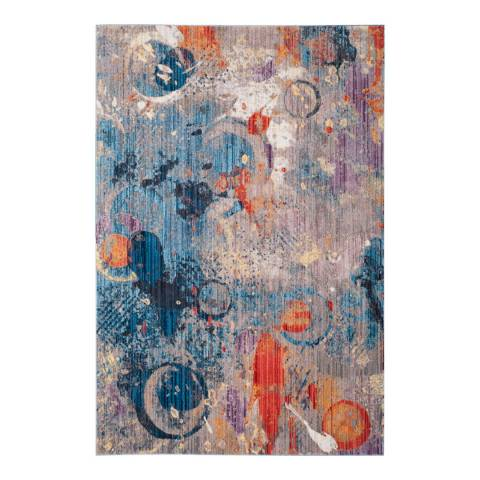 Safavieh Grey/Blue Nalla Transitional Area Rug, 154x228cm