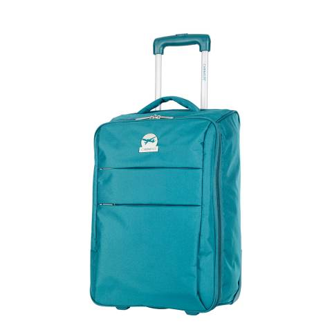 Cabine Size Green Andalus Compact Suitcase 50cm