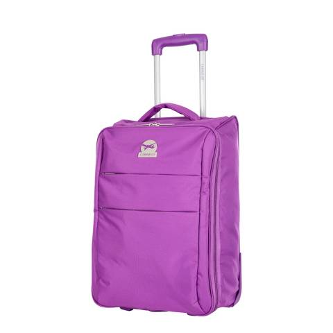 Cabine Size Prune Andalus Compact Suitcase 50cm
