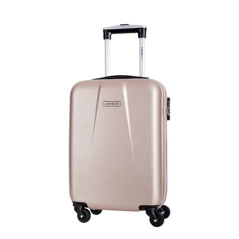 Cabine Size Beige Gabriola 4 Wheeled Cabin Suitcase 46cm