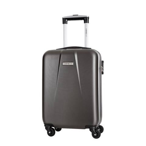 Cabine Size Grey Gabriola 4 Wheeled Cabin Suitcase 46cm