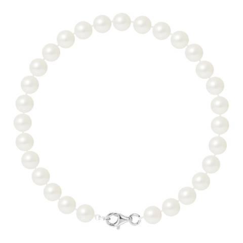 Ateliers Saint Germain Silver/White Tahitian Style Pearl Bracelet