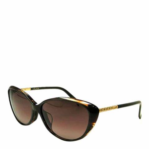 Dior Ladies Brown Piccadilly Dior Sunglasses 57mm