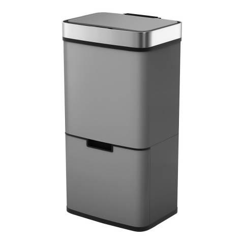 Morphy Richards Titanium Pro Recycle 2 Compartment Sensor Bin, 75L