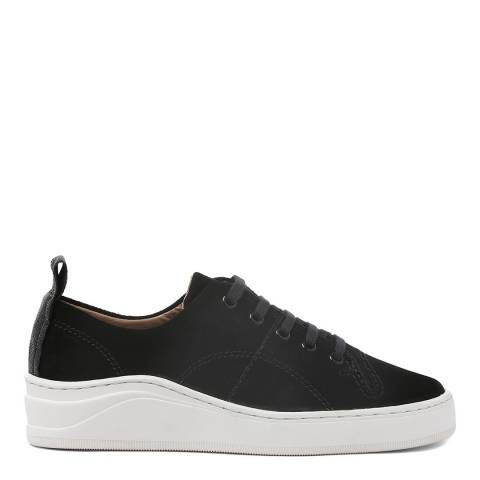 H by Hudson Black Suede Sierra Sneakers