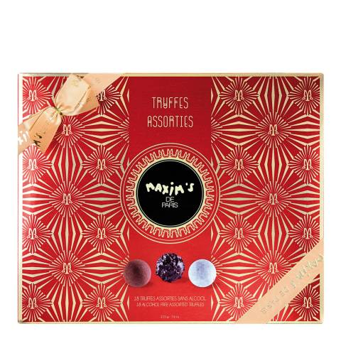 Maxim's de Paris 18 Piece Assorted Alcohol Free Truffles