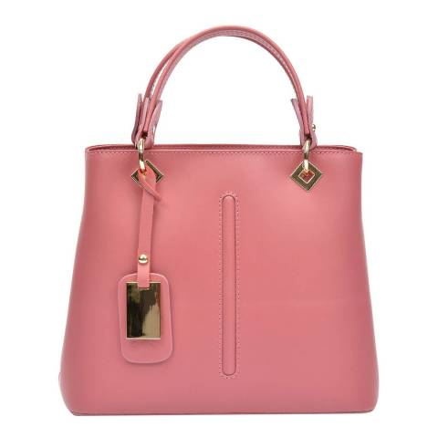 Roberta M Pink Leather Roberta M Top handle Bag
