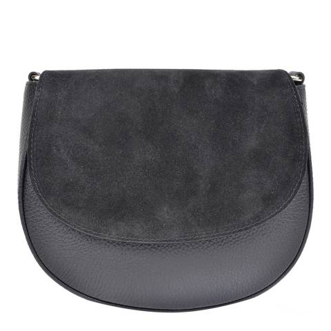 Isabella Rhea Black Leather Isabella Rhea Crossbody Bag