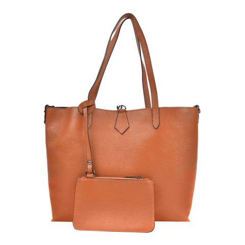 Roberta M Coganc Leather Roberta M Tote Bag