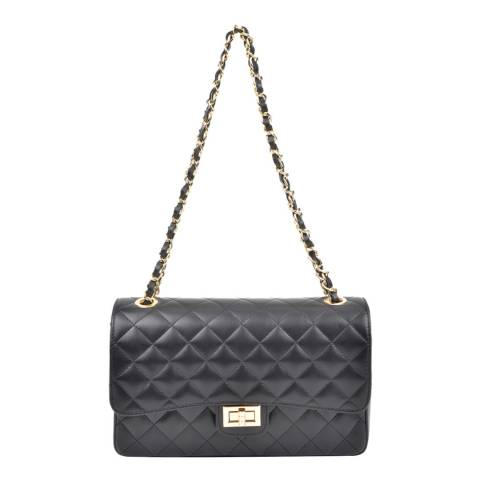 Isabella Rhea Black Leather Isabella Rhea Handbag
