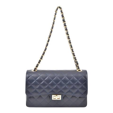 Isabella Rhea Blue Leather Isabella Rhea Handbag
