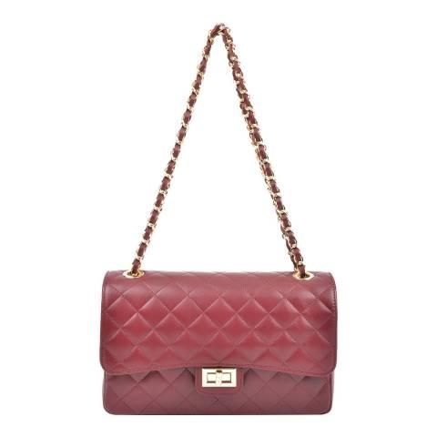 Isabella Rhea Red Leather Isabella Rhea Handbag