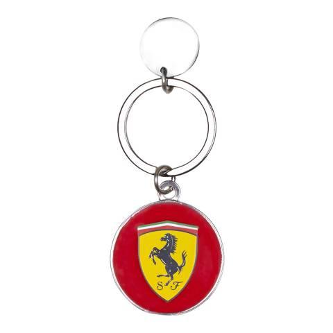 Scuderia Ferrari Red Roundal Keyring