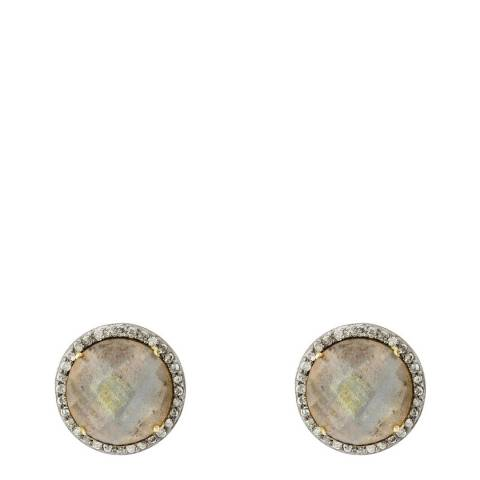 Liv Oliver Gold Plated Stud Earrings