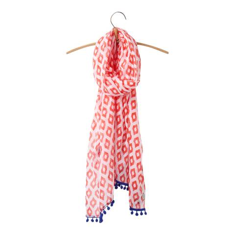 Joules Printed Light Scarf