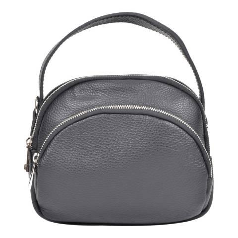 Isabella Rhea Black Leather Isabella Rhea Crossbody Bag